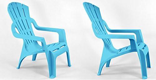 fauteuils SELVA turquoiseJardin Lot deux de Bleu thrCxBQsd