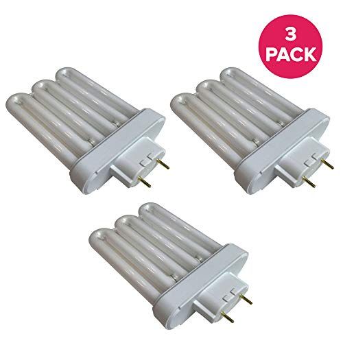 Think Crucial Fluorescent Light Replacements - Compatible with AeroGarden Part # 100633 - Extra Elite, PRO200, 6 Elite+, Deluxe Upgrade Kit & Veggie Pro A Bulb - 6.9
