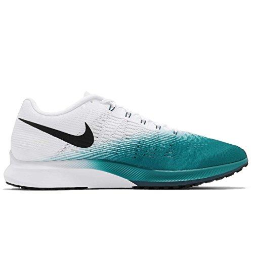 Nike Mens Air Zoom Elite 9 Scarpa Da Corsa Blustery / Bianco / Spazio Blu / Nero
