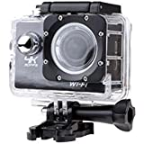 YWNC Action Camera 4K Ultra HD WIFI Sports Camera 170 Degree Wide-Angle Lens 30M Travel Digital Waterproof Camera Diving Snorkeling