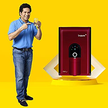 Livpure Zinger Smart IOT Enabled+Copper+RO+UV+UF+Mineralizer+7 Stage Purification 6.5 litres Water Purifier 9