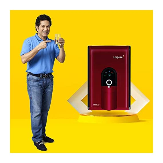 Livpure Zinger Smart IOT Enabled+Copper+RO+UV+UF+Mineralizer+7 Stage Purification 6.5 litres Water Purifier 2