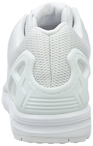 Low Weiß Unisex Flux Clear Footwear Top adidas ZX Grey Erwachsene White Weiß nxfInBqYT