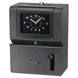 2121 Lathem Heavy-duty Front-feed Manual Time Clock - Analog