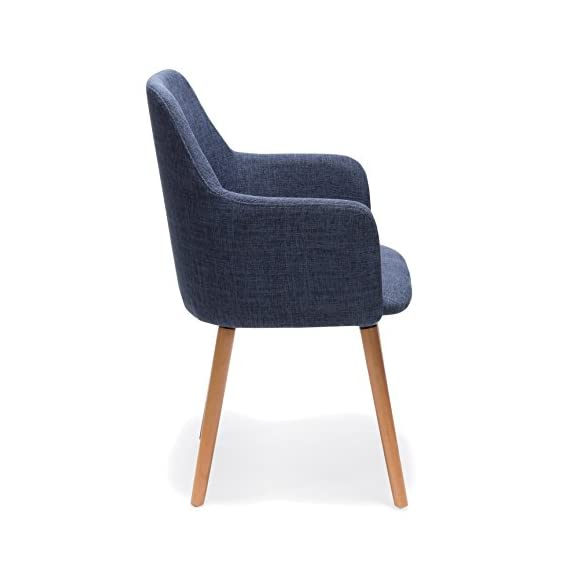 Porthos Home Sarlo Dining Chair, Blue - VERSATILE design Weight capacity: 265 lbs Seat Height:17.72 - kitchen-dining-room-furniture, kitchen-dining-room, kitchen-dining-room-chairs - 41w fKkNCSL. SS570  -