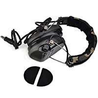 Wargame Outdoor Gear Noise Reduction Headset Model No.Z111 Sordin Type Tactical Headsets ( Official Version) With New Military Standard Plug - FG