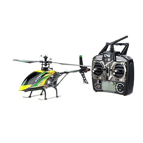 Wltoys V912 2.4ghz Radio System with Large Single Blade RC Helicopter included 4CH Transmitter Model 2