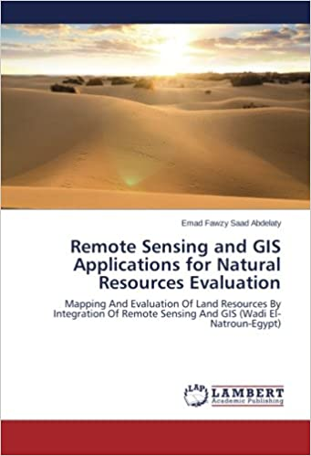 Remote Sensing And GIS Applications For Natural Resources - Natural resources of egypt