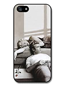 James Dean and Marilyn Monroe case for iPhone 5 5S A629