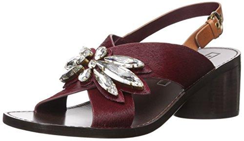 - Marc Jacobs Women's Madison Embellished Sandal Heeled, Bordeaux, 40 EU/10 M US