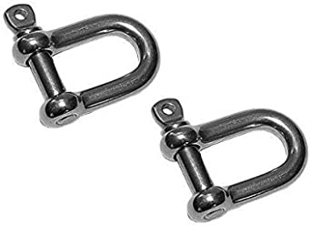 Premier Fittings Direct M8X100 U Bolt with plate Pack of 1 U Bolt Bracket A2 Stainless Steel U Bolt Clamp
