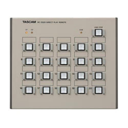 - Tascam RC-SS20 Remote Control