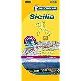 Sicily - Michelin Local Map 365 (Michelin Local Maps)