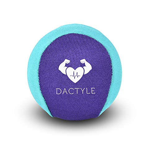 DACTYLE Hand Therapy Stress Ball for Stress Relief and Arthritis Hands, Grip Strength Trainer, Forearm Exerciser, Hand Rehabilitation, and Mobility