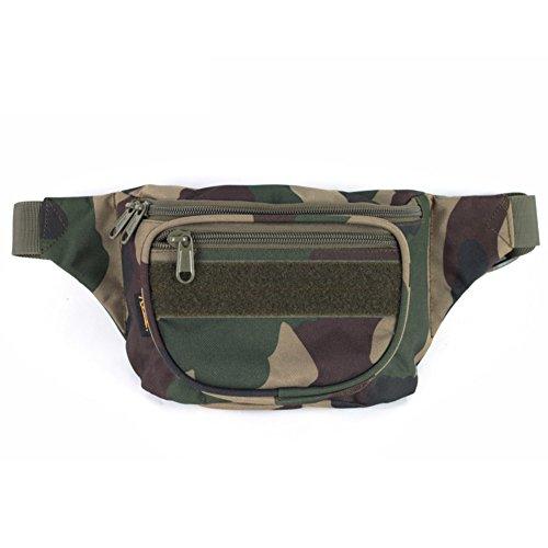 Bolsillos de utilidad ligero deporte camping/Paquete táctico de ejército ventilador-Camuflaje 1 3L Camuflaje 1