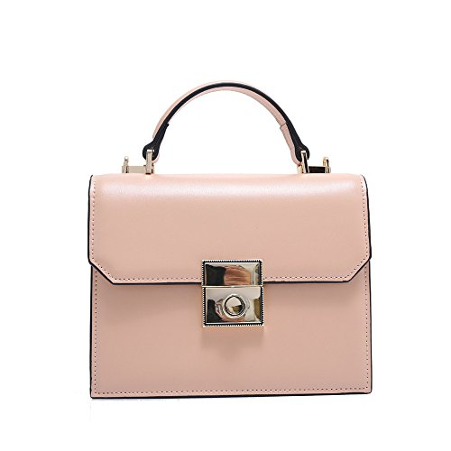 De Nuevo Moda GWQGZ Pink Bolso Simple Rosa Bolso Móvil Hombro De Ancha Banda UFwg1xwq