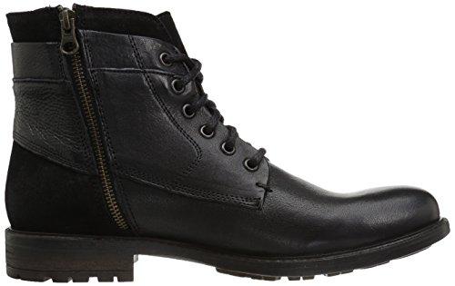 Black Men's Madden Boot Steve Combat Leather Hardin B7ZxCq