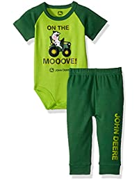 Baby Boys Bodysuit and Pant Set