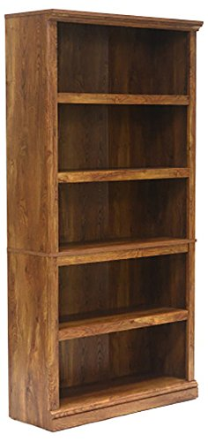 Sauder Furniture Select Collection 5 Shelf Bookcase Chestnut Finish