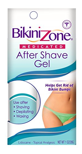 Bikini Zone Medicated Gel For Bikini Area, 1 oz. (Bikini Zone Shaving Gel)