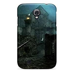 RFn416UhMn Case Cover Protector For Galaxy S4 Dark Souls New Londo Ruins Case