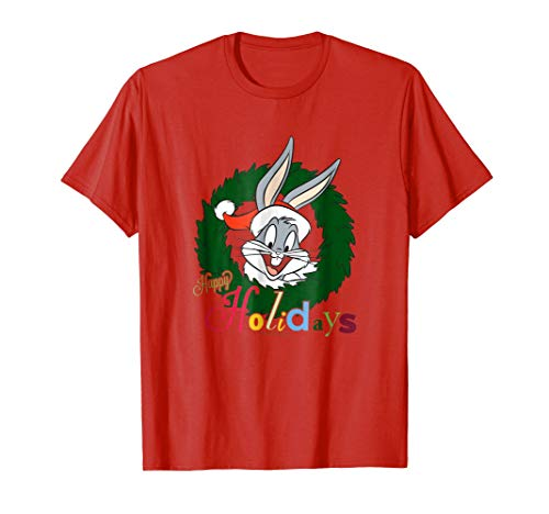 Looney Tunes Holiday Bugs Bunny T Shirt