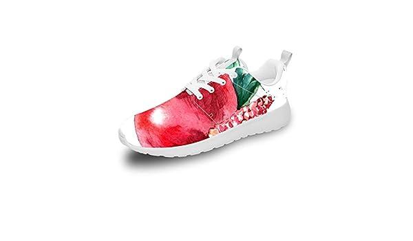 Mesllings Zapatillas de Running Unisex de Granada de Acuarela livianas para Deportes al Aire Libre, Color Multicolor, Talla 38 2/3 EU: Amazon.es: Zapatos y complementos