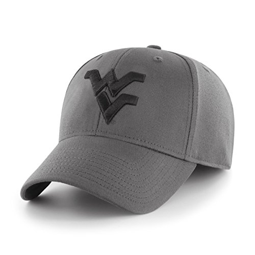 Ncaa Center - OTS Adult Men's NCAA Comer Center Stretch Fit Hat, Charcoal, Large/X-Large