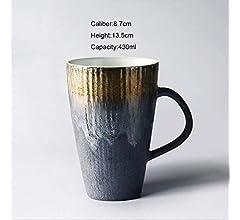 Vintage Estilo Japonés Taza De Café De Cerámica Hecha A Mano ...