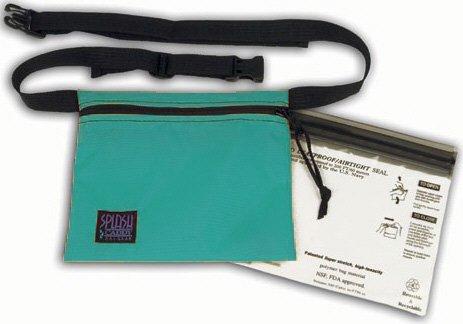 UPC 639767642996, Waterproof Waist Strap Bag 7 in By 6 in Snorkeling - Swim - Water Fun (Green)
