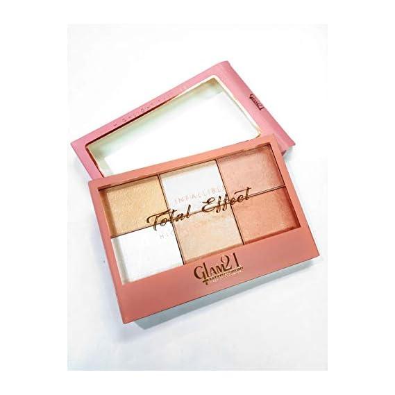Glam 21 E Shopping Infallible Total Effect Highlight Palette