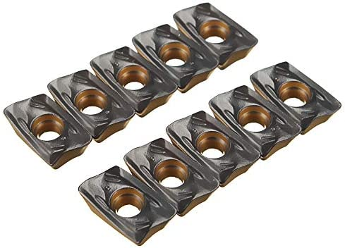 Queenwind 10Pcs R390-4230 11T308M の旋削工具ホルダー用のカーバイドインサート