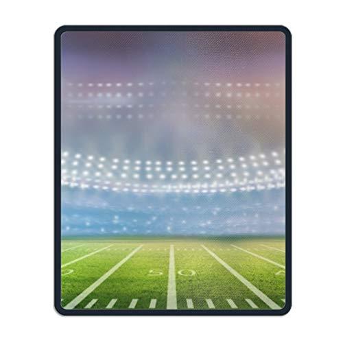 (Mouse Pads Football Stadium Under The Lights Design Regular Computer Mouse Pad)