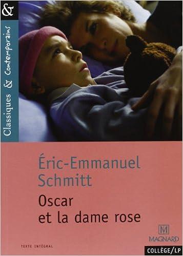 Oscar et la dame rose, Eric Emmanuel Schmidtt