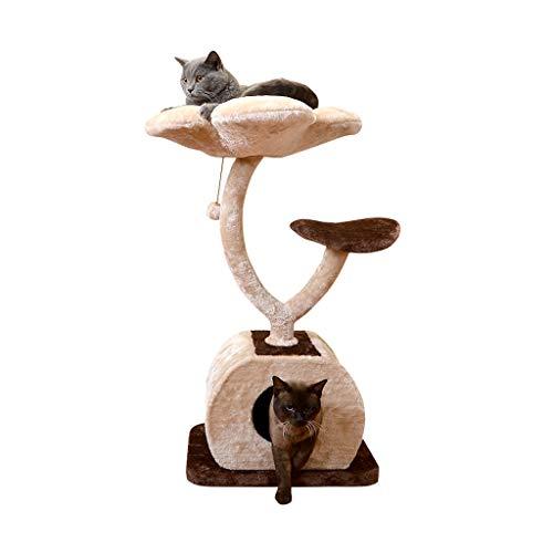 Yingui Gato Escalada Marco Marco de Tres Capas Gato Gato Rascarse Gato Casa Gato Juguete Gato Litera Gato Árbol Gato...