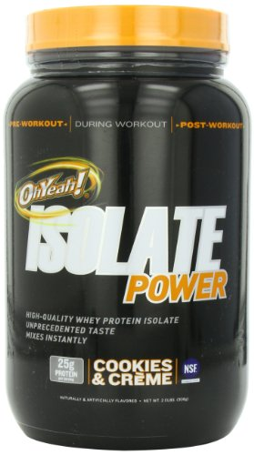 ISS Research OhYeah! Isolate Power, Cookies and Creme, 2 Pound For Sale