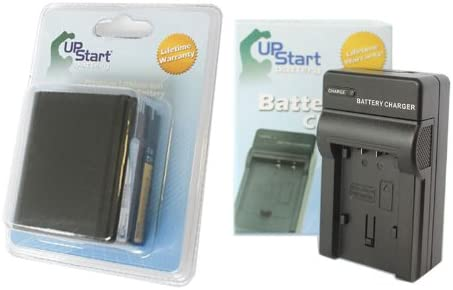 Replacement for Canon OPTURA Battery and Charger 7500mAh 7.4V Lithium-Ion Compatible with Canon BP-970 Digital Camcorder Batteries and Chargers