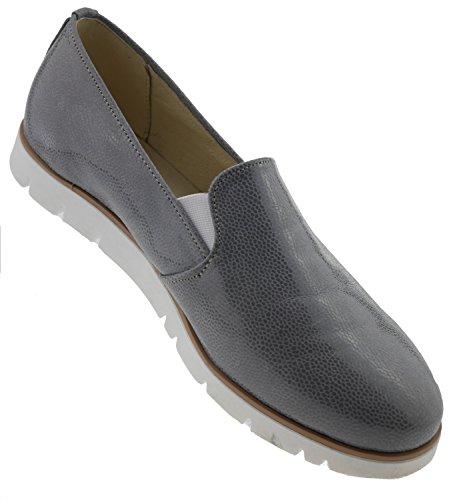 Mocassins Zapato Zapato Pour Mocassins Pour Femme Gris Gris Femme wUFx7qX7n