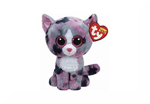 TY / 1107 Products Ltd TY Beanie Boo Cat Approximately 6' + Inspirational...