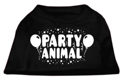 Mirage Pet Products Party Animal Screen Print Shirt Black XXXL (20) by Mirage Pet Products (Image #1)