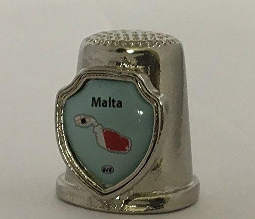 Country Malta Souvenir Thimble
