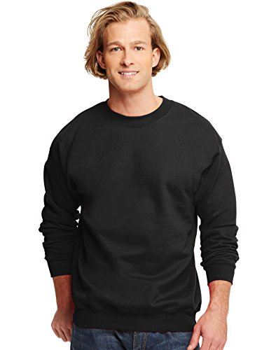 School Crewneck Sweatshirt (Hanes Mens Ultimate Cotton® Heavyweight Crewneck)