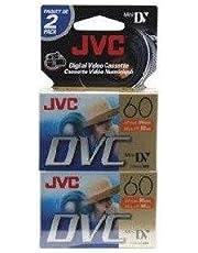 JVC Mdv60Du2 Mini Digital Video Cassette (2-Pk)