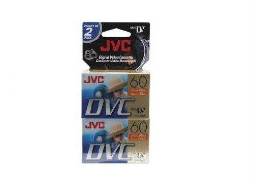 JVC Mdv60Du2 Mini Digital Video Cassette (2-Pk)