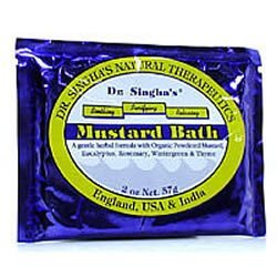 Dr. Singha\'s Natural Therapeutics - Mustard Bath - 2 Oz, 5 Pack