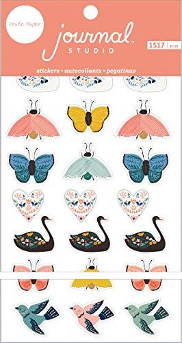 (American Crafts Journal Studio Sticker Book 4.75
