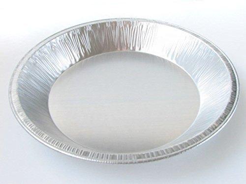 9' Heavy Duty Foil Pie Pans- 1 1/2' Deep- Disposable or Reusable #509 (10)