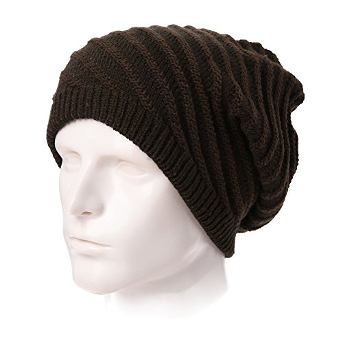 SIGGI Womens Knit newsboy Cap Warm Lined Winter Hat 100% Soft Acrylic With Visor
