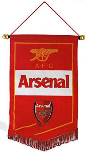 AJBOY Football Club Flags Soccer Logo Banner Flag Indoor and Outdoor Flags Bar//Party Decoration Flag