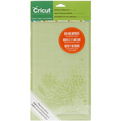 Cricut StandardGrip Adhesive Cutting Mat for Crafting, 6 by 12-Inch